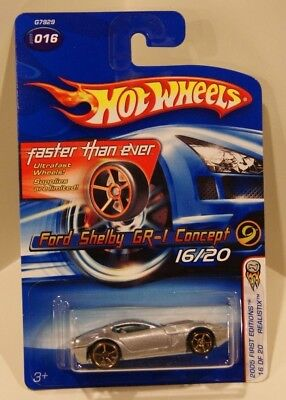 Ford Shelby GR-1 Concept 2005 Hot Wheels Faster Than Ever FTE First Editions