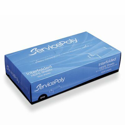 """UltraSource Interfolded Wax Deli Papers, 8"""" x 10.75"""" Pack of 1000"""