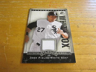 Josh Fields 2008 SP Legendary Cuts Destination Stardom Memorabilia #FI White Sox