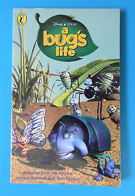 Disney A Bug's Life Adapted From The Film Pb Book 1999 Pixar