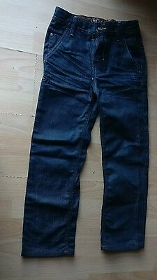Next Boys Regular Straight  Blue Adjustable Waist Jeans Trousers Age 8 Years