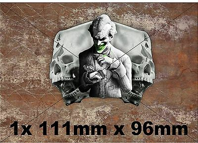 1x Ace of Skull,Joker Vinyl Graphic, Sticker, Decal, Custom, Bike, Car ,Tuning