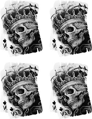 Ace of Skull Vinyl Graphic, Sticker, Decal, Custom, Bike, Car ,Tuning 0399