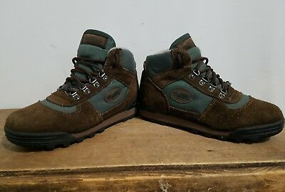 VASQUE WOMEN SZ 4.5 US Hiking Boots Ankle Outdoor Suede Retro Teal ...