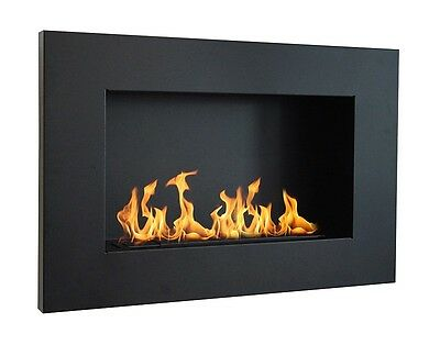 Bio Ethanol BioFire Fireplace  720 x 480 + Glass + long burner !!!