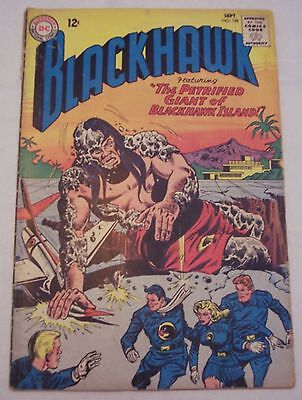 Lot of TWO. Blackhawk #185 and #188. 1963. DC. Silver Age Comics. Poor Condition