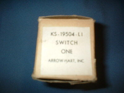 Vintage Bell Telephone ARROW-HART KS-19504-L1 SWITCH NOS NEW BOX