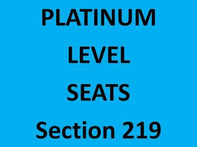 2 - Dallas Mavericks vs. Los Angeles Lakers * Platinum Tickets Sec. 219, Row C