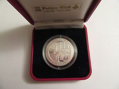 1999 Gibraltar Proof Sterling Silver Millennium Coin, Pobjoy Mint