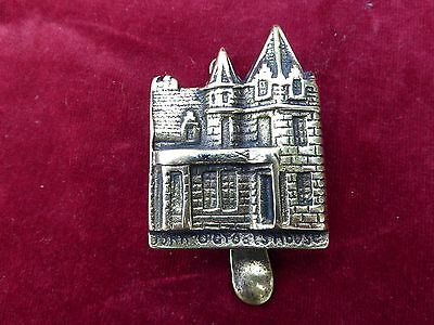 Small Vintage Brass Knocker John O Groats House