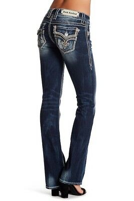 NWT New Womens Rock Revival Tibbie Boot Jeans 25 26 27 28 29 30 31 32 Long