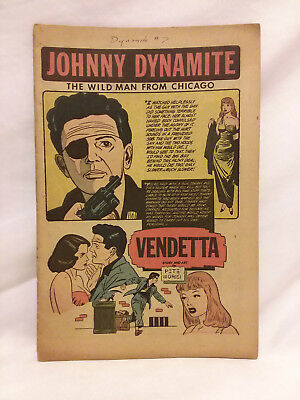 Comic Media/Allen Hardy (1953), Dynamite #7, COVERLESS, Johnny Dynamite