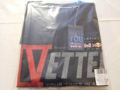 Sebastian Vettel World Champion Shirt Herren Men XXL NEU NEW SELTEN RARE