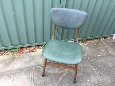 Vintage Green Chair Elite Parker Danish Eames Fler Style Dining Mid Century