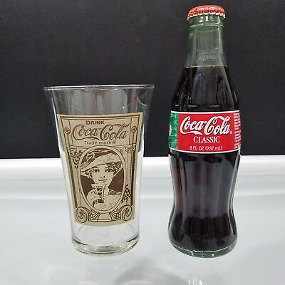 Coca Cola Trademark Archives Flair Glass Recreation and 2001 Super Bowl Bottle