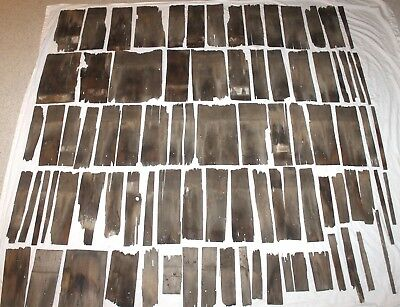 Lot of 87 Primitive Antique Wood Barn Shingles Architectural Salvage 1870's Farm