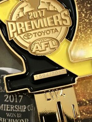 #SundayMarket Richmond Tigers 2017 Premiership LE House Key Blank-Free Post