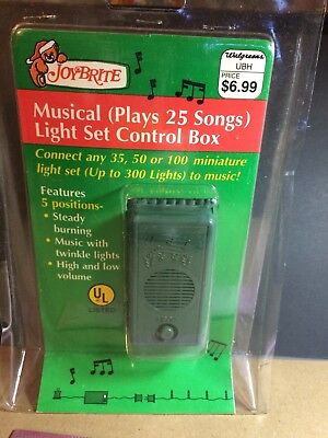 JoyBright Musical Light Set Box Plays 25 Songs