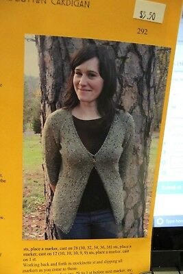 268754996 KNITTING PURE   Simple Pattern 241 Neck Down Hooded V Neck Cardigan ...