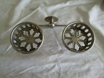 Antique Bathroom Wall Mounted Double Cup Holder