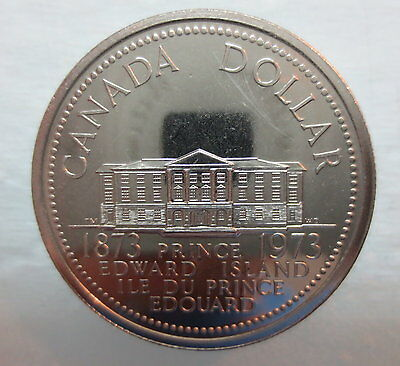 1973 Canada Prince Edward Island Proof-Like One Dollar Coin