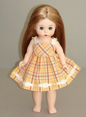 """Madame Alexander 8"""" Doll Dress -From Original Outfit -Beautiful- Spring - Easter"""