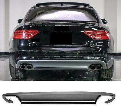 audi a5 8t sportback facelift diffusor heckdiffusor s line. Black Bedroom Furniture Sets. Home Design Ideas