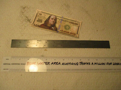 """LUFKIN 12"""" Scale Ruler # 2504, Has Slot For Use With a Combination Square Head"""