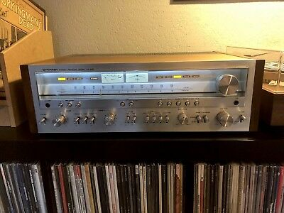 Pioneer SX-950 AM/FM Stereo Receiver 85 Watts Per Channel Serviced LED