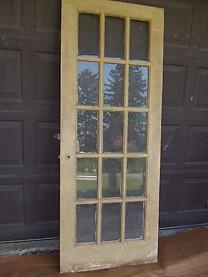 Vintage Exterior French Door 77 1/2 x 29 1/2
