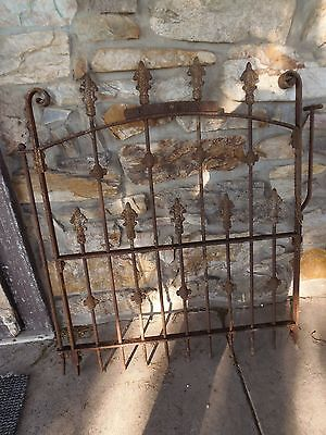 Antique Cast Iron Gate Cemetery Gate Garden Gate Yard Art