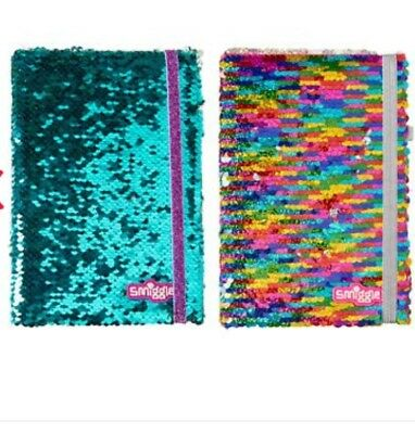 Smiggle  A5 reversey sequins note book