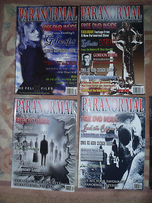 Paranormal magazines 1-57 complete all in VG / excellent condition