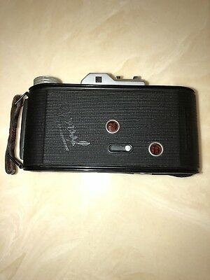 Rare Beautiful Vintage Rolfix Jr Franka Folding Camera