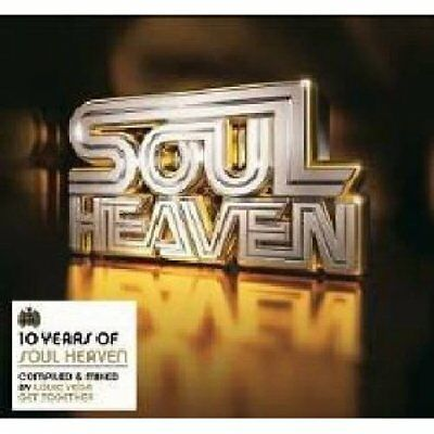 10 Years Of Soul Heaven Compiled And Mixed By Louie Vega Various Artist Audio CD