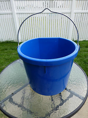 20 qt heated flat back bucket