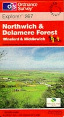Northwich and Delamere Forest, Winsford ... by Ordnance Survey Sheet map, folded
