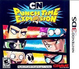 Cartoon Network: Punch Time Explosion 3DS New Nintendo 3DS