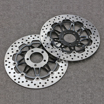 Front Floating Brake Disc Rotor Fit For Suzuki Bandit GSF250 GSF400 GS500 GS1200
