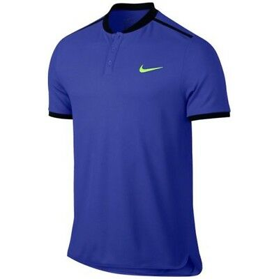 Nike Court Advantage Men's Tennis Polo. Large. Paramount Blue 830839-452