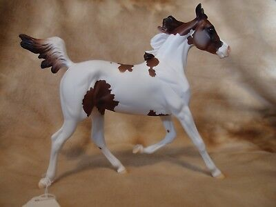 """Peter Stone Matte Chestnut Pinto Yearling 2009 """"Nadine"""""""