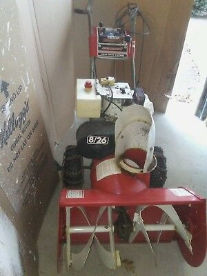 """DYNAMARK SNOW BLOWER / THROWER - 8/26"""" - TECUMSEH ENGINE 