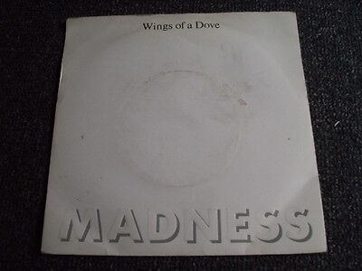 Madness-Wings of a Dove 7 PS-Made in UK-Ska-OI!-MOD