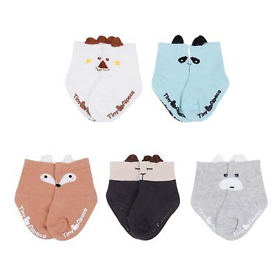 Gather Other 5 Pairs Baby Toddlers Unisex Adorable Cartoon Animal Cotton Ankle