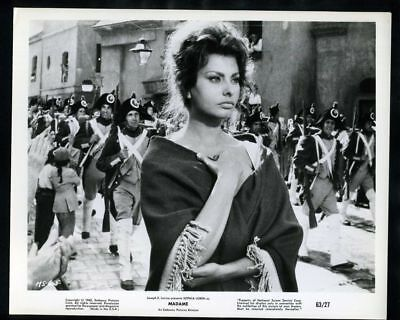 1963 SOPHIA LOREN In MADAME Vintage Original Photo TWO WOMEN EL CID gp
