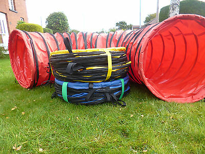 johnsagility dog agility tunnel 600mm x3mtr tunnel training obedience agility