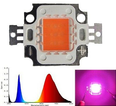 Hi-Power LED 10W VollSpektrum 380-840nm 9-11V 1000mA