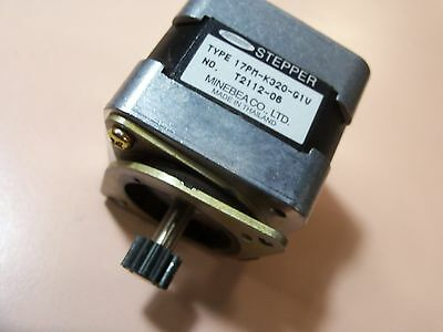 Minebea Astrosyn 17PM-K320-G1V #T2112-06 stepper motor 6-pin connector