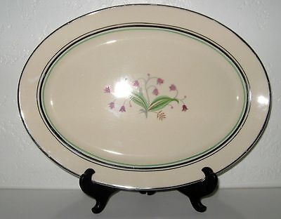 SYRACUSE Winchester Coralbel Small Serving Platter 12 Inch EUC