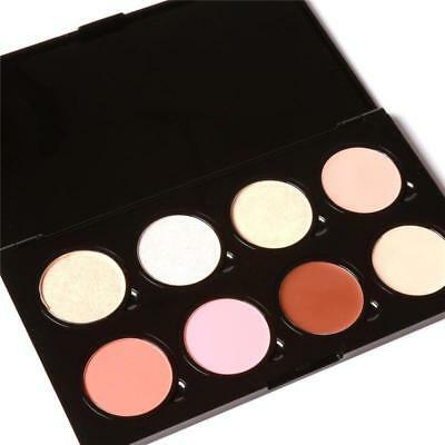 FOCALLURE 5 Colors Bronzer and Highlighter Powders Refill Face Powder Palette 4g